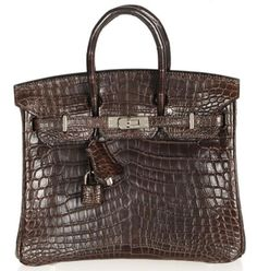e4daa1a496 Read- Hermes Chocolate Niloticus Crocodile Birkin bag has an evergreen  charm on Luxurylaunches