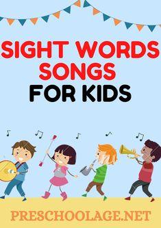 Kindergarten Sight Words List, Preschool Sight Words, First Grade Sight Words, Dolch Sight Words, Sight Word Practice, Sight Word Games, Cvc Words, Kindergarten Literacy, Preschool Learning