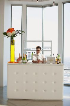 Cocktail Concierge - Pharmacie LA - Just Wenderful Event Planning and Design - US Bank Tower - Diana McGregor Photography