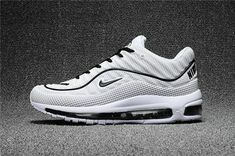 fa99cfc5519fc4 Cheap Wholesale Nike Air Max Supreme x 98 Mens White Grey Black Running  Shoes - China Wholesale Nike Shoes