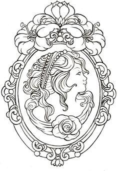 Cameo Tattoo by ~Metacharis on deviantART