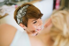 Jenny Packham Acacia bride fun stylish village wedding http://www.stottandatkinson.com/