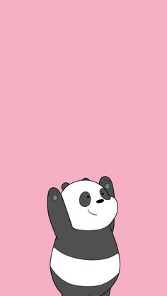 Image about panda in we bare bears by ana on we heart it cartoon wallpaper,