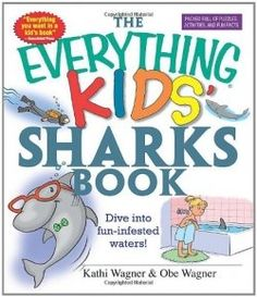 The Everything Kids' Sharks Book: Dive Into Fun-infested Waters! - Shark Birthday Party for Kids   http://www.squidoo.com/summer-of-the-shark