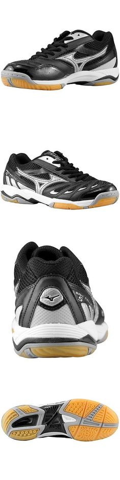 Clothing 159130: Mizuno Wave Rally5 Women S Volleyball Shoe Msrp $80 Black-Silver -> BUY IT NOW ONLY: $45 on eBay!