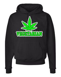 Vegetarian - Unisex Hoodie by WildWindApparel on Etsy
