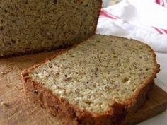 Gluten Free Almond Flour Sandwich Bread Get the recipe here!c… Gluten Free Almond Flour Sandwich Bread Get the recipe here! Almond Flour Bread, Almond Flour Recipes, Buckwheat Recipes, Flaxseed Bread, Gluten Free Recipes, Bread Recipes, Low Carb Recipes, Paleo Bread, Paleo Flour