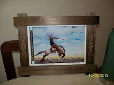Resultado de imagen para marcos de madera rusticos para cuadros