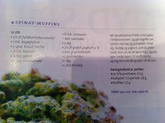 Spinat-muffins