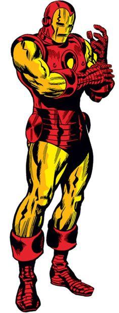 Jack Kirby (1917 - 1994)dibujante estadounidense creador de muchos personajes superhéroes.- Iron Man.