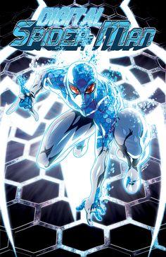 #Digital #Spiderman #Fan #Art. (Digital Spider-Man #1 Variant Cover) By: FooRay.