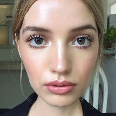 Soft and dewy with a touch of Sormé Pure Rose Lip Liner.  Makeup by: @hkassel