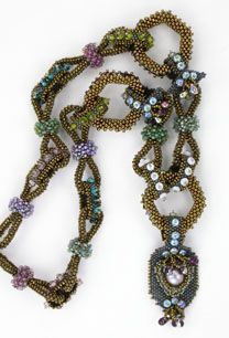 A Garland of Jeweled Links & Chain Necklace © Cynthia Rutledge