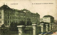 Régi soproni üdvözlőlapok. Forrás: tacsifoto