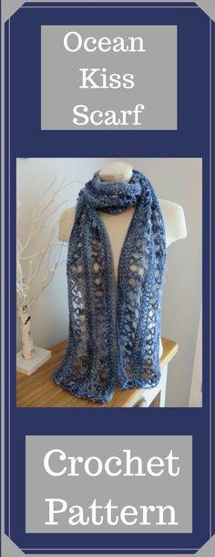 Ocean Kiss Scarf from Crochet247