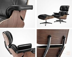 Swell 76 Best Eames Lounge Chair And Ottoman Images Chair Unemploymentrelief Wooden Chair Designs For Living Room Unemploymentrelieforg