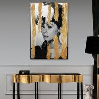 Hepburn as a conversation piece