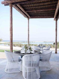 Restaurant of the Anantara Sir Bani Yas Island Al Yamm Villa Resort, Sir Bani Yas Island, United Arab Emirates