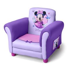 minnie mouse furniture for toddlers | Delta Children Disney Minnie Mouse Kids Club Chair | Wayfair