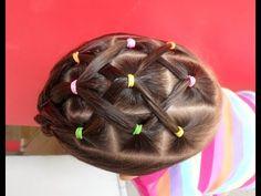 Peinado muy fácil para niña / trenzas bonitas / Easy hairstyle for girls - YouTube