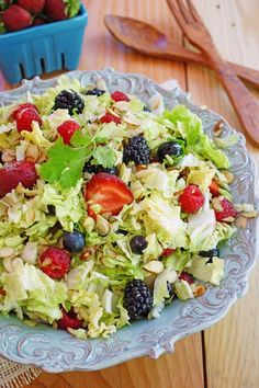 Very Berry Napa Cabbage Salad / Pattys Food
