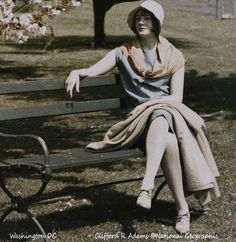 1920s Women in Autochrome Color