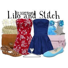 """""""Lilo and Stitch"""" by lalakay on Polyvore #disney"""