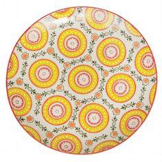 Cordoba Design Stoneware Plate