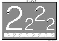 Des pistes graphiques à plastifier pour apprendre à écrire : les chiffres de 0 à 9