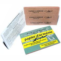 Armenier-Papier - Papier d'arménie original - Armenier-Papier - Cleopatra's Duft-Oase