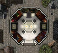 House of the Silken Veil - 1st Floor by RonPepperMd on DeviantArt