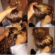 Pinterest : hair004 ~ Vixen sew in
