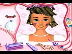 Barbie Magic Hair Styler PC Game Review - YouTube