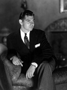 Clark Gable looked good without one.