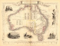 australia.sydney-view.pre-queensland-est-1859-.counties.tallis-rapkin-1849-map-271333-p.jpg (776×600)