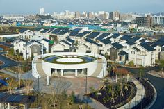 Panasonic Creates A Cool Sustainable City Near Tokyo Sustainable City, Sustainable Design, Cities, Challenges And Opportunities, Smart City, Big Challenge, Green Building, Prefab, Night Life