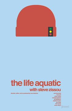 The Life Aquatic With Steve Zissou (Best Poster)