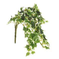 Artificial Flower Ivy Trailing Bush Variegated - Irish Plants Direct