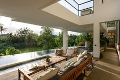 Own your private villa for holiday Beautiful Villas, Beautiful Sunset, Bali Luxury Villas, New Property, Living Area, Interior And Exterior, Bedroom, Outdoor Decor, House
