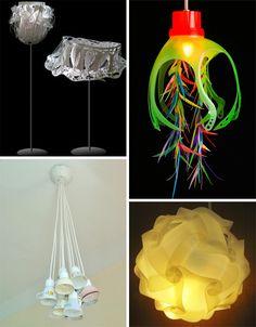 Bright Ideas: 41 Bold, Beautiful + Bizarre Recycled Lamps | WebUrbanist