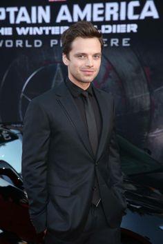 "Marvel's ""Captain America The Winter Soldier"" Hollywood Red Carpet Premiere - Sebastian Stan"