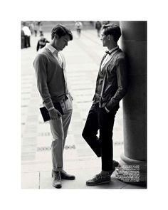 Mathias Lauridsen & Cesar Casier by Morten Bjarnhof for Breuninger image mathiasandcesar6