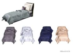 Bedroom Furniture inspired by Baker Furniture - Collection Jean Louis Deniot Found in TSR Category 'Sims 4 Sculptures'
