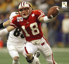 Safety Jim Leonhard intercepted 21 passes and made the All Big Ten team twice while at Wisconsin. He went on to the NFL in 2005.
