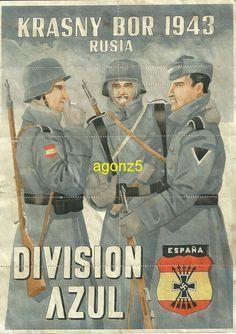 0634 DIVISION AZUL KRASNY BOR 1943 STO DOMINGO DE LA CALZADA CUP. RACIONAMIENTO   eBay