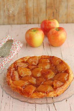 Cocinando entre Olivos: Cómo hacer una Tarta Tatin de manzanas. Receta paso a paso