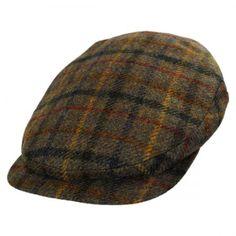 City Sport Caps Plaid Harris Tweed Wool Ivy Cap Ivy Caps d14aaea7088