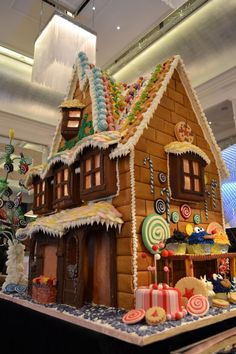 The Langham Hotel Unveils its Huge Gingerbread House - London