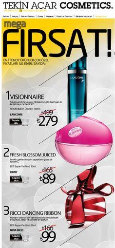En trendy ürünler çok özel fiyatları ile sınırlı sayıda….Tekin Acar Cosmetics sezonun en avanyajlı ütünlerini sizin için seçti. Sonbahara merhaba derken avantajlı ürünlere mutlaka göz atın.