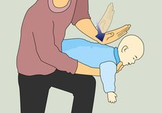 Always good to refresh, especially as we begin to add solids! How to Perform the Heimlich Maneuver on a Baby